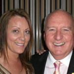 Fran with Alan Jones Charity event