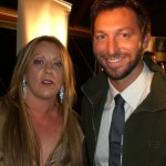 Fran and International swimming star : Ian Thorpe