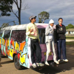 ON THE EDGE cast: Van designed by the kids