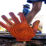 Wellington NSW: Naidoc celebrations: Trail of 400 hands